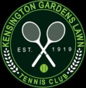 Kensington Gardens Lawn Tennis Logo